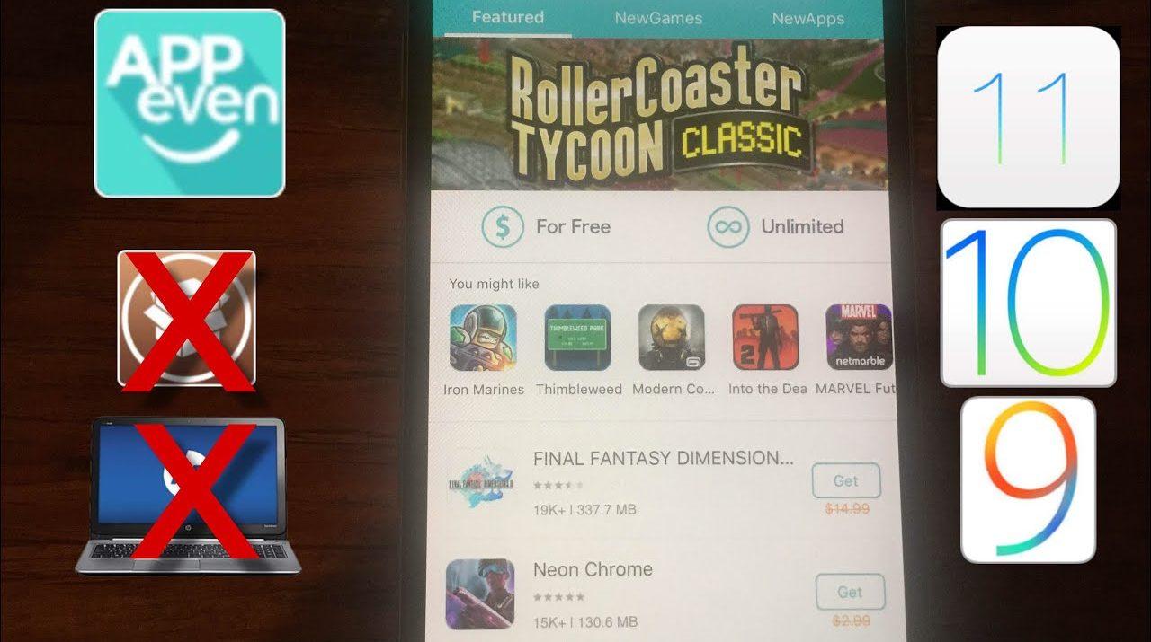 Nuevo Appeven Descarga Apps De Pago Y Juegos Hackeados Gratis Ios 11
